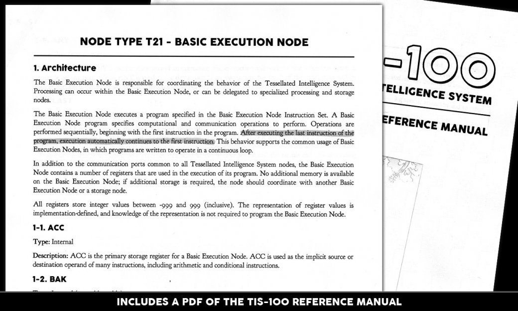В Steam появилась TIS-100: игра про программирование на ассемблере | Канобу - Изображение 6015
