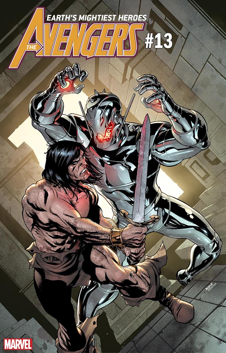 Конан-Варвар сразился ссупергероями Marvel, нолишь навариативных обложках | Канобу - Изображение 4345