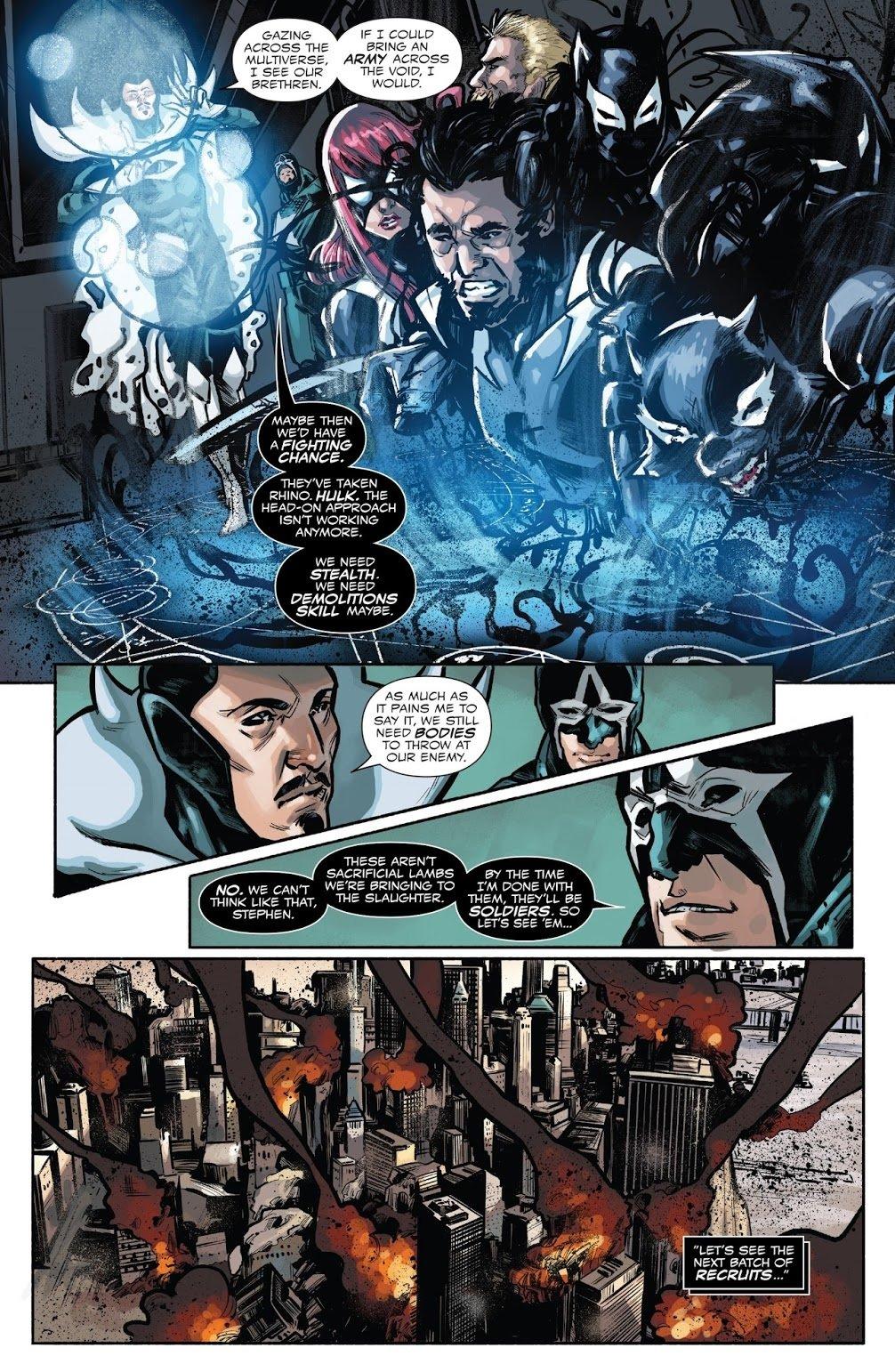 Venomverse: почему комикс овойне Веномов изразных вселенных неудался | Канобу - Изображение 2