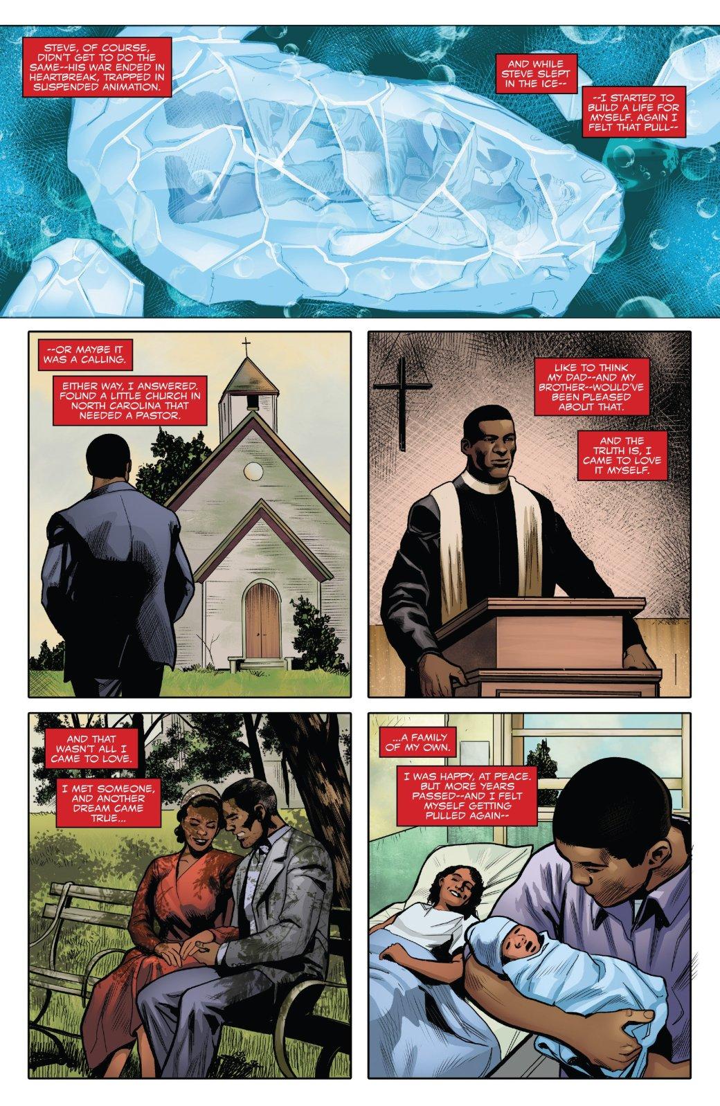 Marvel Generations: отправившись впрошлое, Сэм Уилсон прожил там целую жизнь | Канобу - Изображение 5750