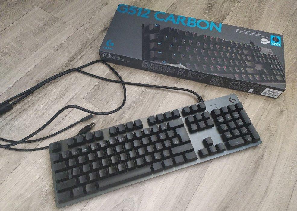 Обзор клавиатуры Logitech G512 Carbon— алюминиевый RGB-стиляга для геймеров | Канобу