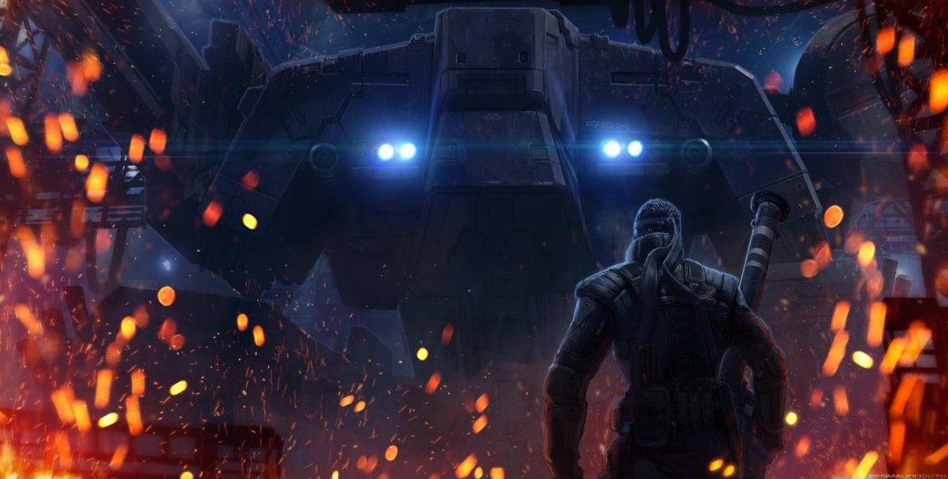Замечательные фанарты к31-летию Metal Gear отрежиссера ееэкранизации | Канобу - Изображение 33