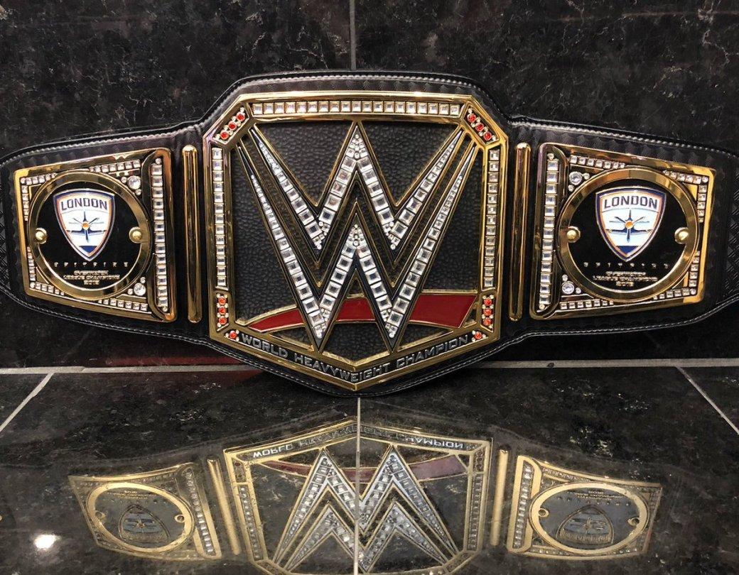 Победители первого сезона Overwatch League получили чемпионский пояс по реслингу WWE    Канобу - Изображение 1