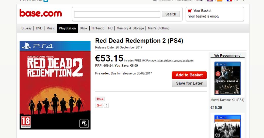 Red Dead Redemption 2, скорее всего, выйдет всентябре   Канобу - Изображение 1680