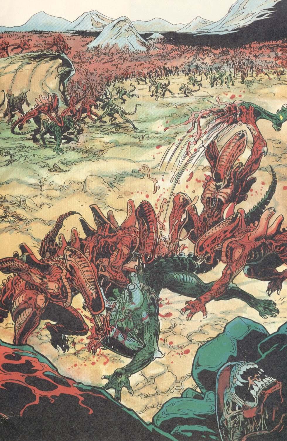 Жуткие комиксы про Чужих, откоторых кровь стынет вжилах   Канобу - Изображение 9