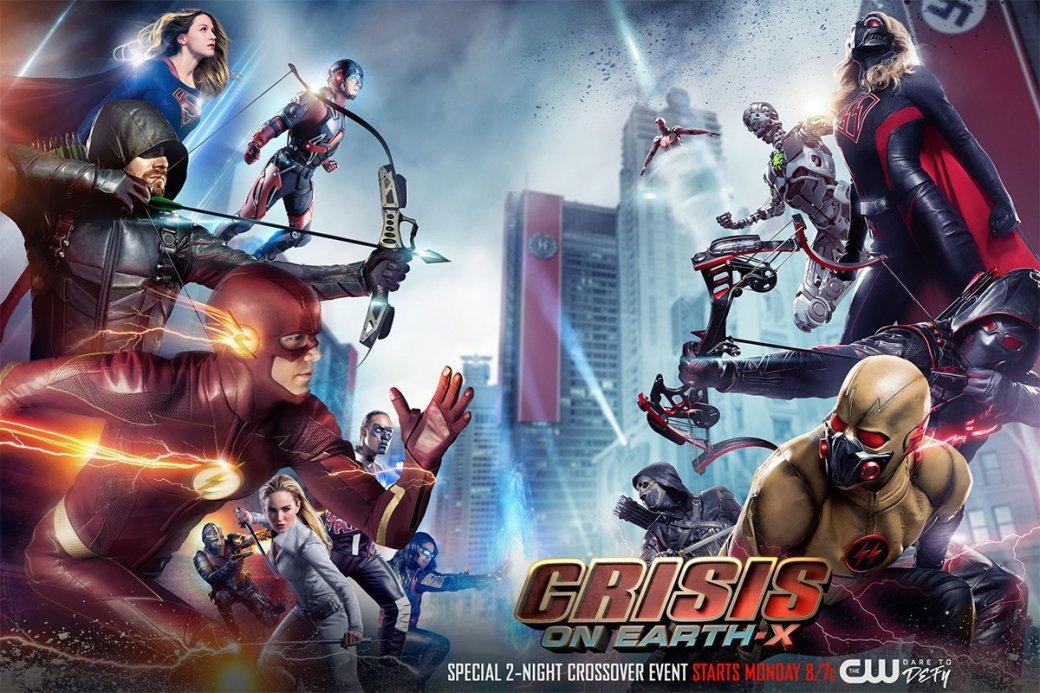 «Кризис на Земле-Икс»: стоит ли смотреть кроссовер CW, в котором супергерои сражаются с нацистами?