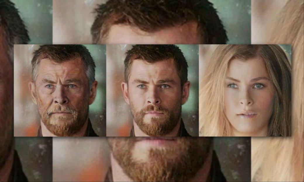Старик Тор иДракс-девушка: нагероев Marvel применили FaceApp. Результат впечатляет!. - Изображение 3