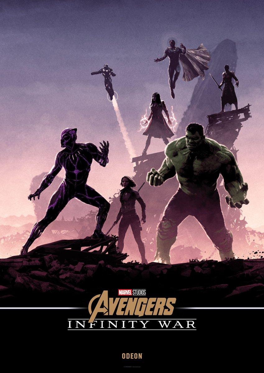 Нановых постерах «Войны Бесконечности» Мстители противостоят Таносу наруинах | Канобу - Изображение 5