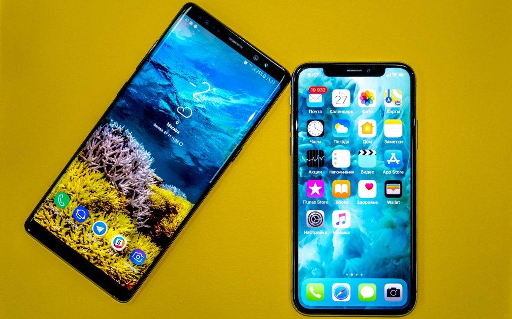 Смартфон с лучшей камерой: iPhone Xпротив Galaxy Note8 | Канобу