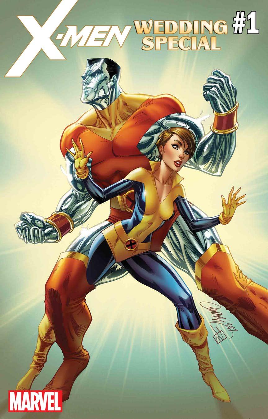 Marvel выпустит спецвыпуск, посвященный свадьбе Колосса иКитти Прайд. - Изображение 1