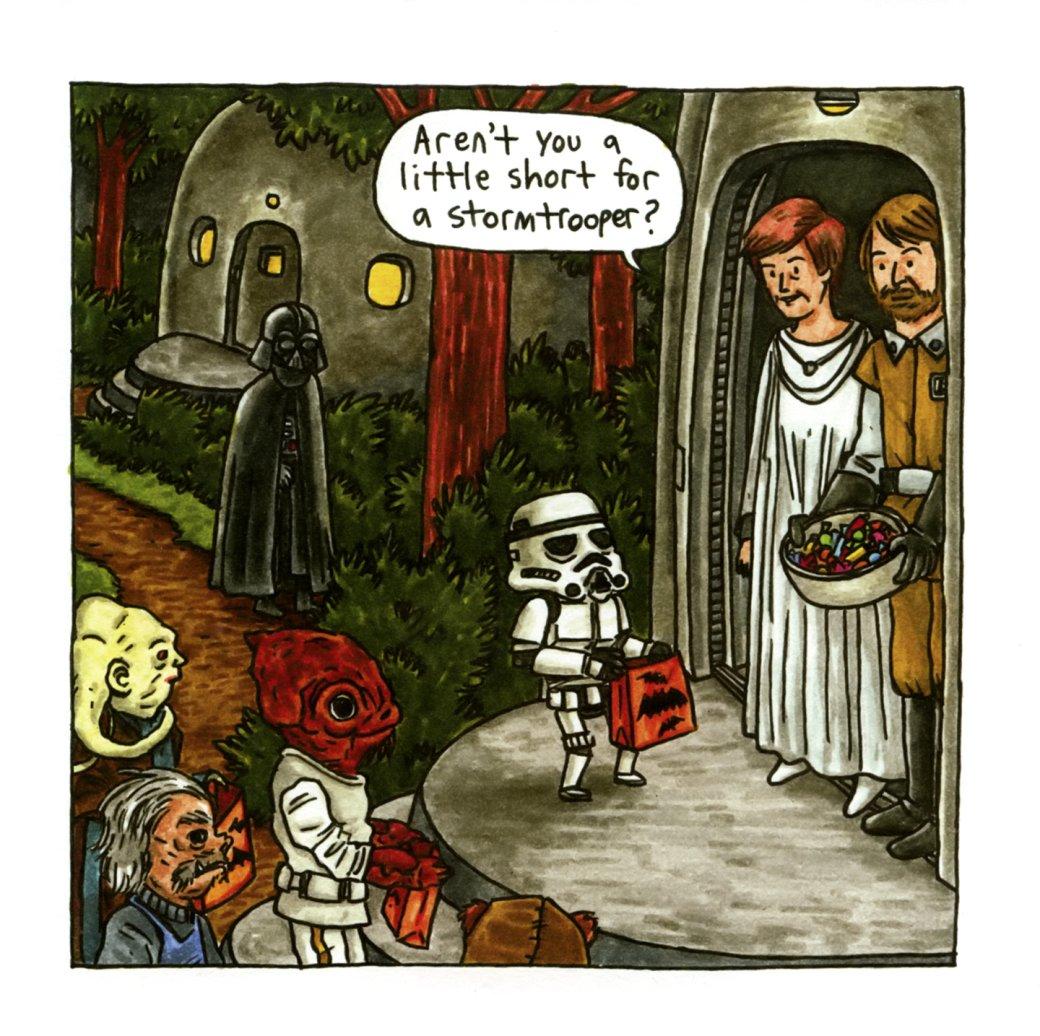 Самые странные инеобычные комиксы по«Звездным войнам»: отстимпанка доСредневековья. - Изображение 9