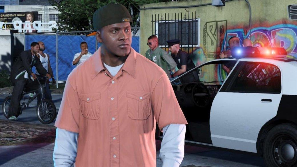 Гифка дня: сопротивление бесполезно вGrand Theft Auto5 | Канобу - Изображение 1