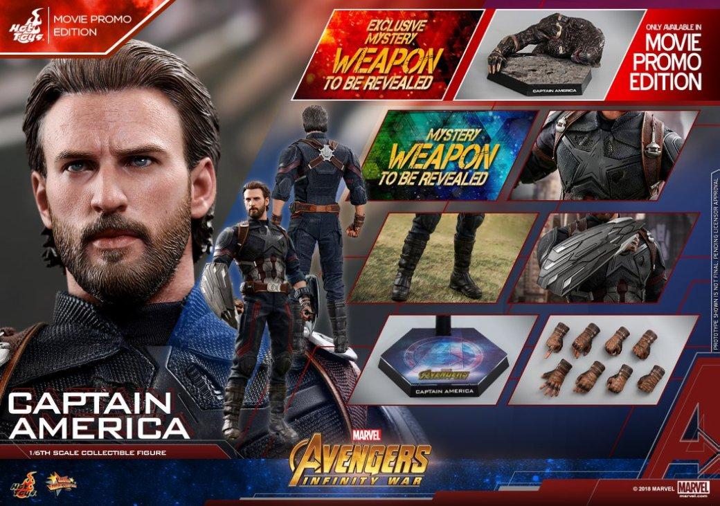 Взгляните нановую фигурку Капитана Америка из«Войны Бесконечности» отHot Toys. - Изображение 16