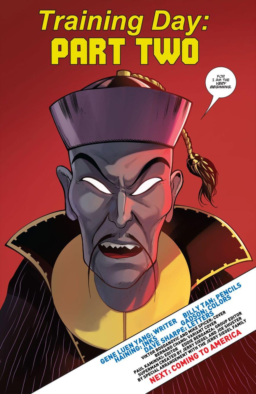 Стереотипичный китайский злодей появился в новом комиксе New Super-Man  | Канобу - Изображение 3152