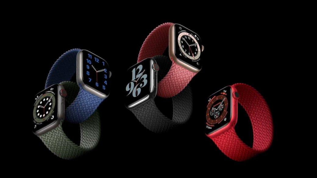 Смарт-часы Apple Watch Series 6 иWatch SEпредставлены официально   Канобу - Изображение 8745