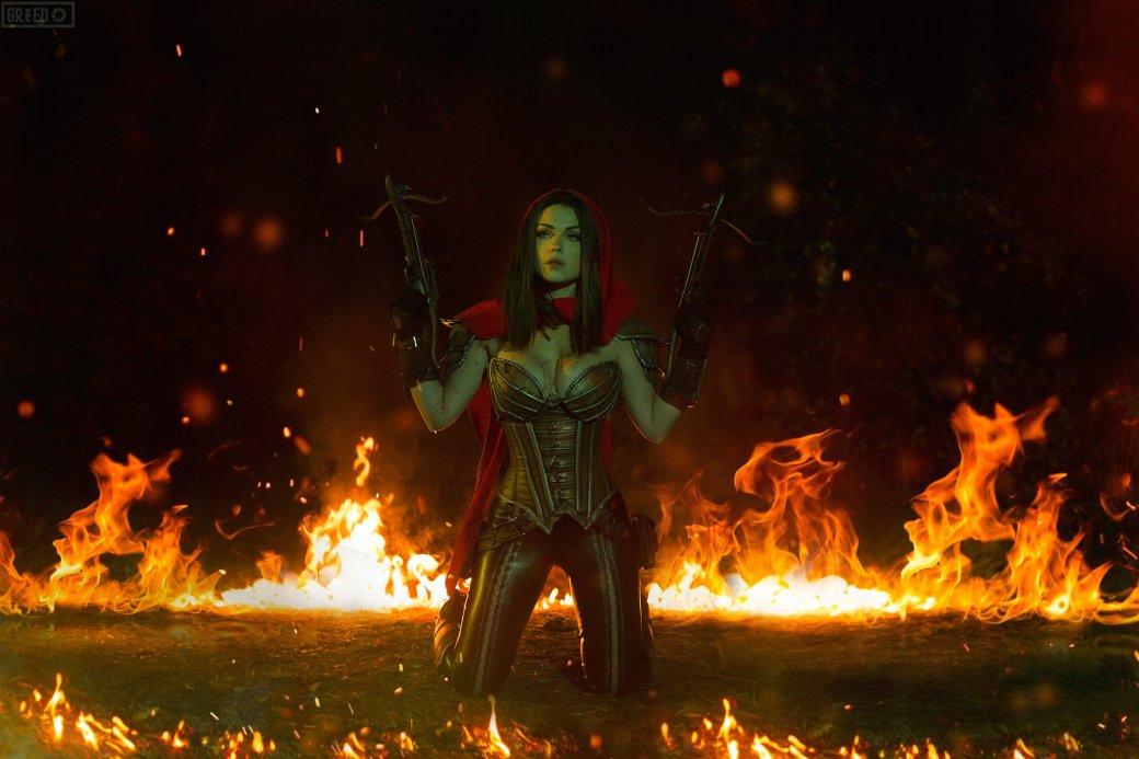 Горячий косплей Охотницы на демонов из Diablo III   Канобу - Изображение 6