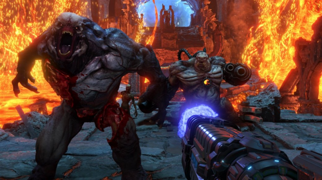 «ИгроМир 2019». Doom Eternal — сверхскоростной шутер, в который ни за что нельзя играть на геймпаде | Канобу - Изображение 158