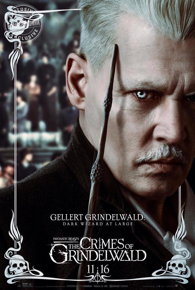 Посмотрите наперсонажные постеры «Фантастических тварей: Преступления Грин-де-вальда» | Канобу - Изображение 10