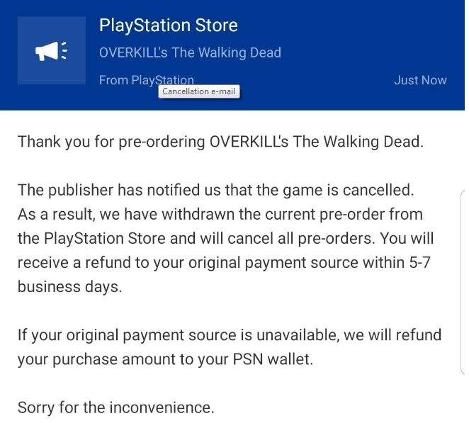 Консольный релиз Overkill's The Walking Dead отменен [обновлено: не отменен]   Канобу - Изображение 4927