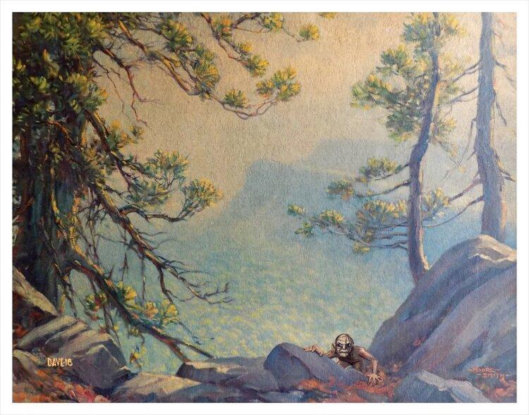 Художник добавляет элементы фантастических фильмов назаурядные пейзажи   Канобу - Изображение 4130