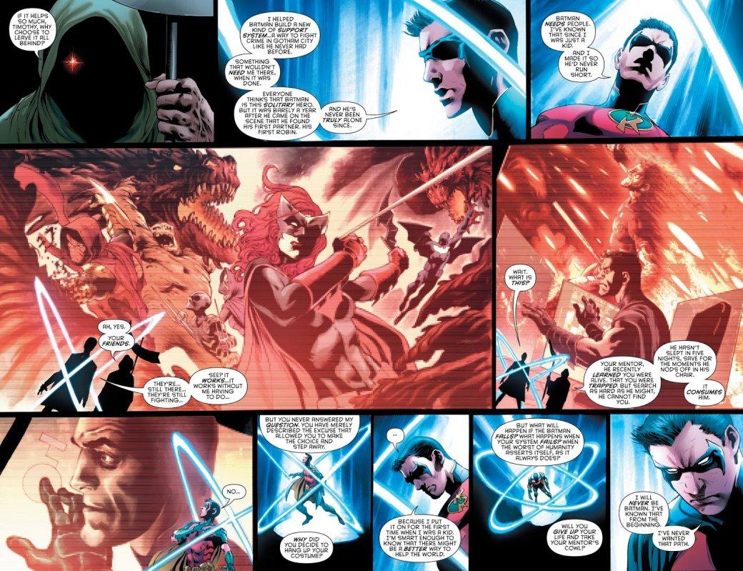 Бэтмен будущего, данетот: как два Тима Дрейка встретились настраницах комикса DC | Канобу - Изображение 3
