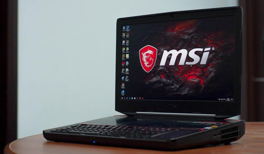 Что внутри игрового ноутбука MSI стоимостью сподержанную иномарку? | Канобу - Изображение 1