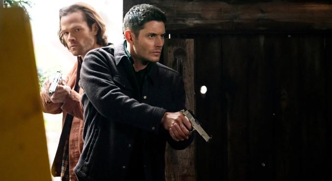 Счего началась 2 половина 15 сезона «Сверхъестественного». Проделки Бога и судьба Винчестеров  | Канобу