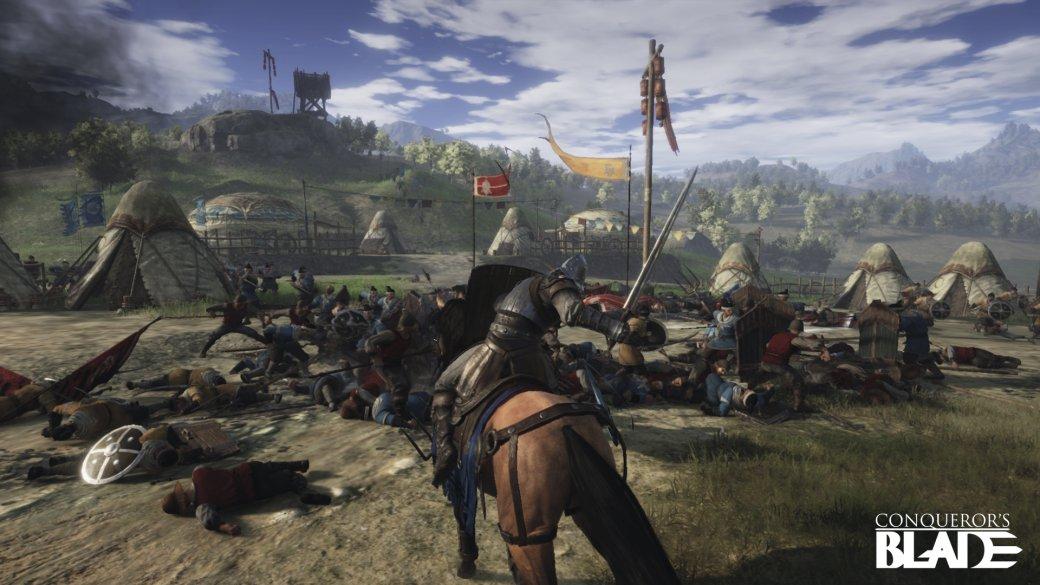 Дикий мир феодализма вбета-версии Conqueror's Blade | Канобу - Изображение 2
