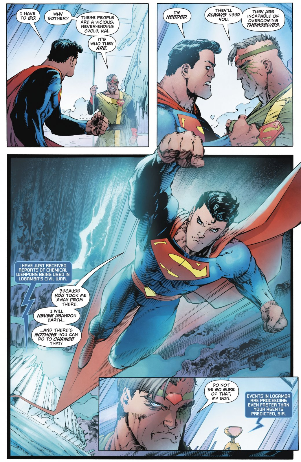 Сможетли Мистер Озуговорить Супермена покинуть Землю?. - Изображение 2