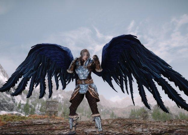 Модификация для Skyrim превратит вашего персонажа вангела | Канобу - Изображение 1