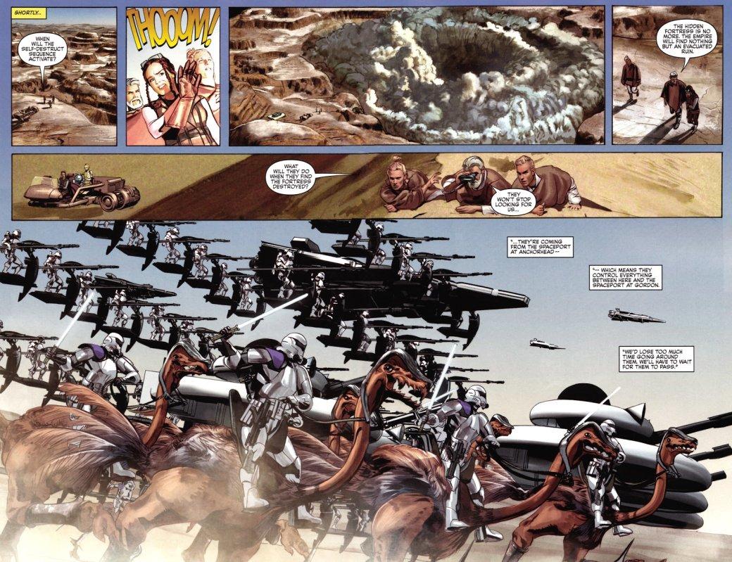 Самые странные инеобычные комиксы по«Звездным войнам»: отстимпанка доСредневековья. - Изображение 3