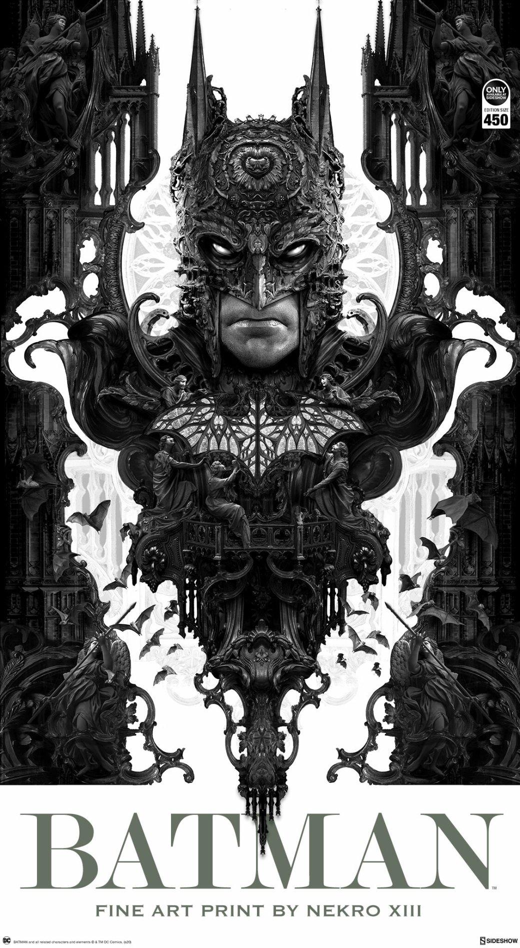 Художник рисует мрачные арты по«Ведьмаку», «Бэтмену» инетолько. Показываем его работы | Канобу - Изображение 6460