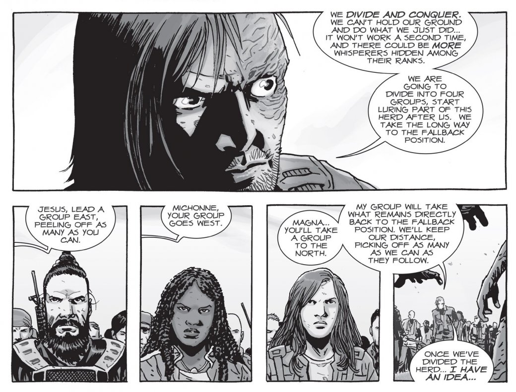 Война с Шепчущимися в комиксе The Walking Dead не оправдала ожиданий | Канобу - Изображение 15