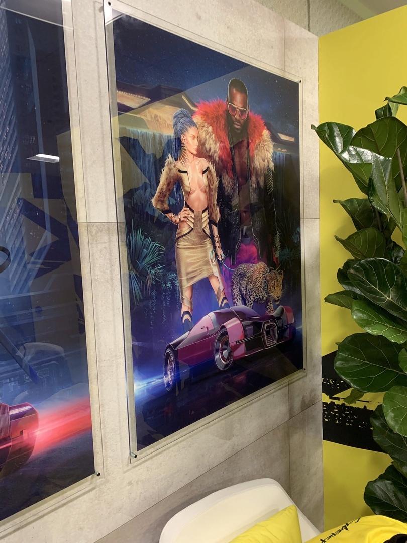 Яркое будущее высоких технологий нановых постерах ирендерах персонажей Cyberpunk 2077 | Канобу - Изображение 0