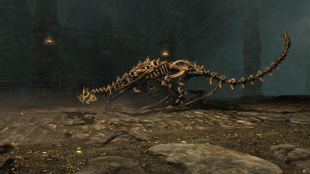 Гифка дня: надругательство над трупом дракона вThe Elder Scrolls 5: Skyrim | Канобу - Изображение 1735