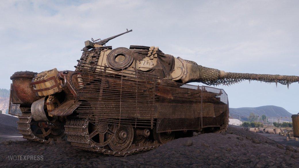 Что получат игроки в World of Tanks за новогодние коробки | Канобу - Изображение 9615