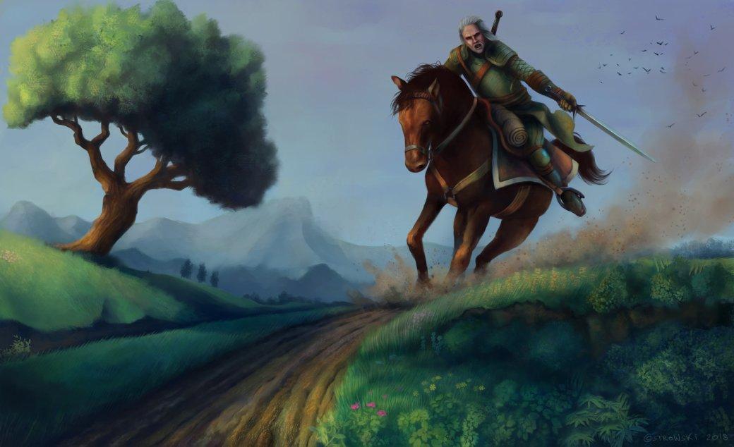 Галерея. Крутейший фанарт по«Ведьмаку», откоторого сразуже хочется перепройти трилогию игр | Канобу - Изображение 6272