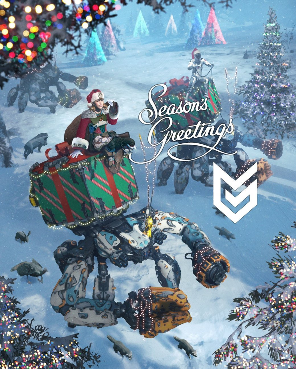 С праздниками! Разработчики поздравляют с Новым годом и Рождеством | Канобу - Изображение 2