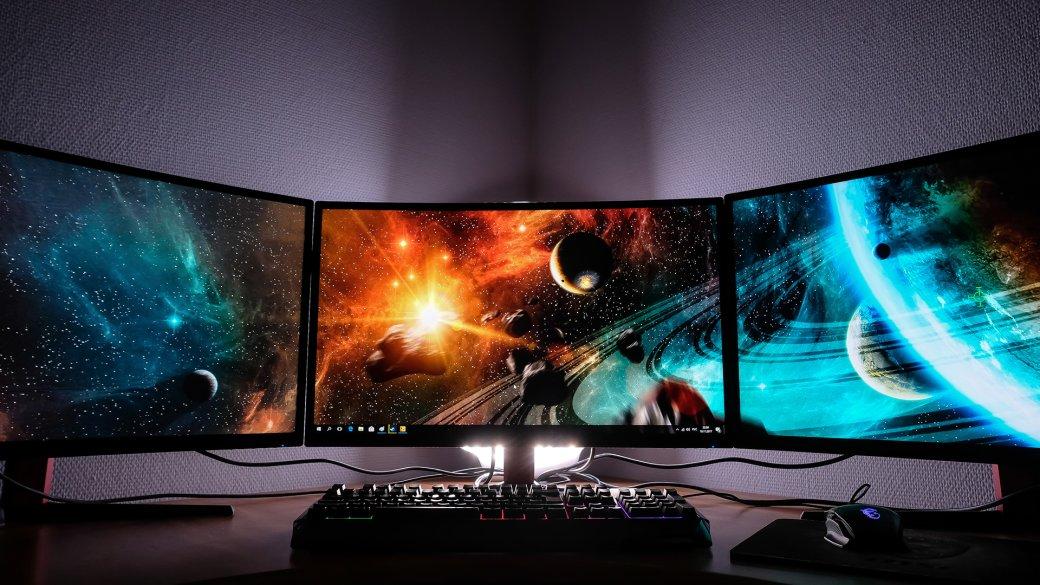 Блажь или будущее? Зачем компьютеру больше одного экрана, икак играть натрех мониторах сразу. - Изображение 1