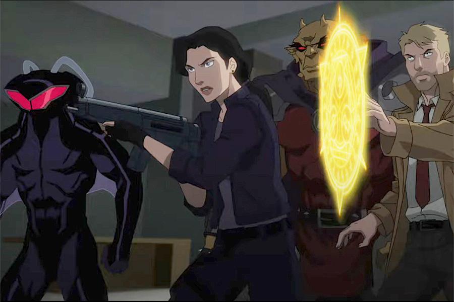 Рецензия намультфильм «Темная лига справедливости: Война Апокалипса»