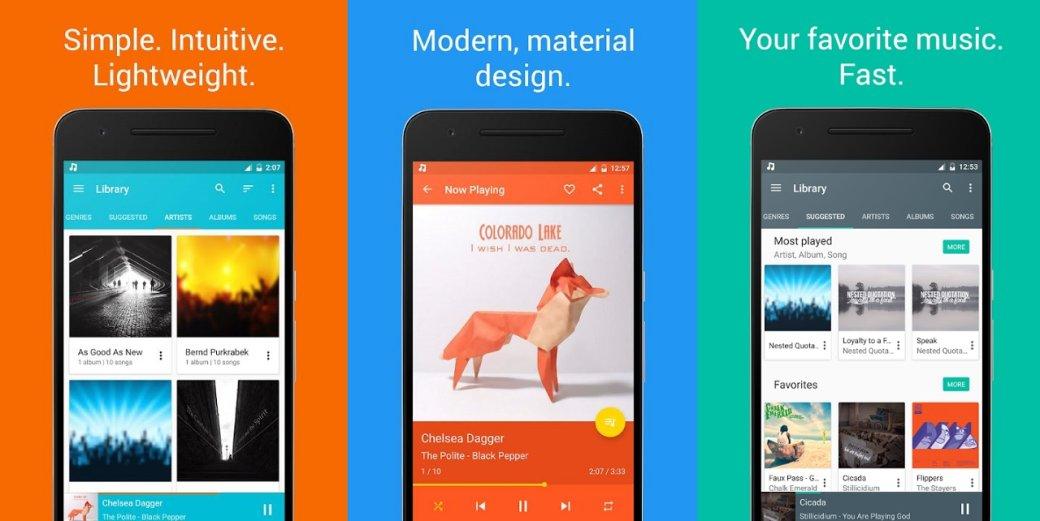 Аудиоплееры для Android - лучшие музыкальные плееры, бесплатные приложения для прослушивания музыки | Канобу - Изображение 4