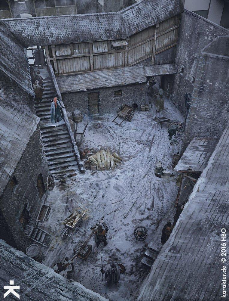 Взгляните напотрясающие концепт-арты 7 сезона «Игры престолов». - Изображение 19