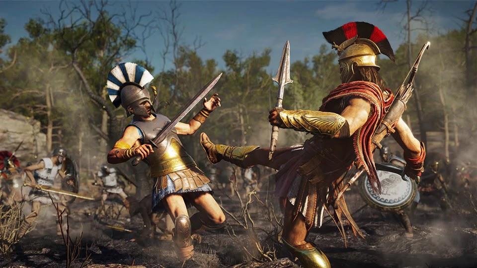Безбашенная боевка,очень хорошая лошадь и This Is Sparta: подробности Assassin's Creed Odyssey. - Изображение 1